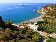 Agia Fotia beach Παραλία Αγία Φωτιά