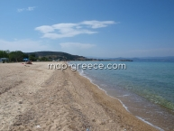 Beach Sithonia ChalkidikiTrani Amouda beach Sithonias