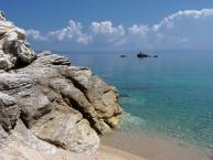 Ακτή Αρμενιστής Armenistis Beach